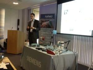 Siemens' Jens Dolenek speaks about coding and RFID