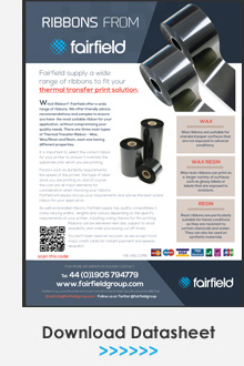 Ribbons from Fairfield Datasheet
